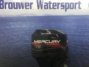 Mercury 75 pk Oil injectie langstaart elektrische start powertrim