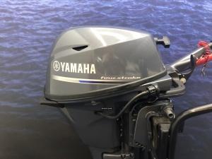 Yamaha buitenboordmotor 15 pk kortstaart 10 vaaruren