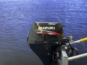 Suzuki 15 pk Langstaart afstandsbediening el start!!!