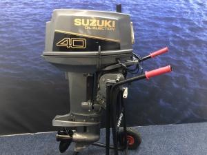 Suzuki 40 pk Tweetakt afstandsbediening en knuppel