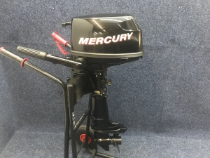 Mercury 5 pk kortstaart incl externe tank