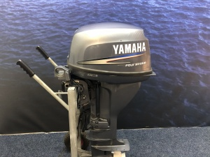 Yamaha 15 pk langstaart el start