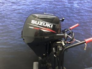 Suzuki 8 pk langstaart elektrische start