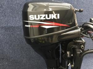 Suzuki 25 pk langstaart el start op knuppel
