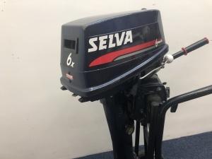 Selva / Yamaha 6pk langstaart
