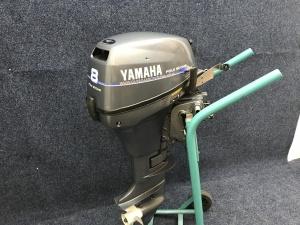 Yamaha 8pk Kortstaart afstand bediend