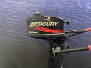 Mercury 4 pk buitenboordmotor Langstaart Sailpower