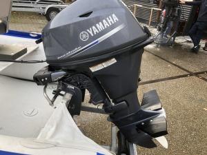 Yamaha 15 pk Kortstaart met afstand bediening