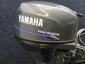 Yamaha 25 pk lang staart afstandbediend