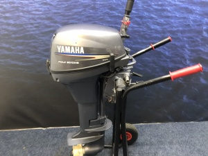 Yamaha 8 pk Werkmotor High Trust langstaart