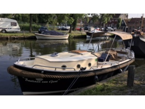 Jan van Gent sloep 820 cabin special edition