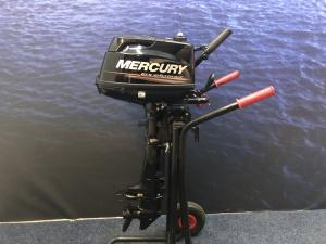 Mercury 6 pk buitenboordmotor Kortstaart