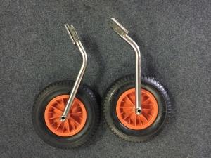 Strandwielen RVS Grote wielen afneembaar