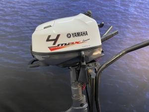 Yamaha 4 pk kortstaart Zeer mooie motor