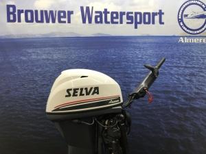 Selva /Yamaha  40 pk Langstaart knuppel elektrische start