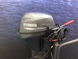 Yamaha 9.9 JES Kortstaart elektrische start afstandsbediening