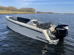 Bronson 25 Bullit Tender Yacht by Steeler