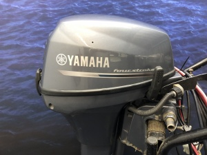 Yamaha 9.9 pk Langstaart afstandsbediening werkschroef