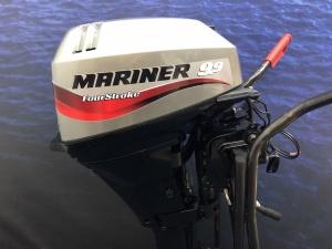 Mariner /Mercury 15 pk langstaart elektrische start afstandsbediening
