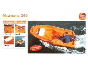 Jeanneau New Matic 360 tot nader order niet leverbaar!!