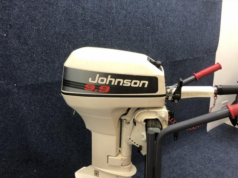 Johnson 9.9 pk kortstaart 2 takt 2 cilinder