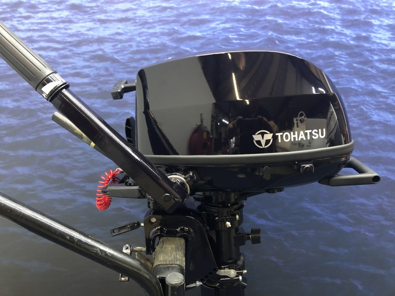 Buitenboordmotor Tohatsu MFS 5 D Nieuwe model !!