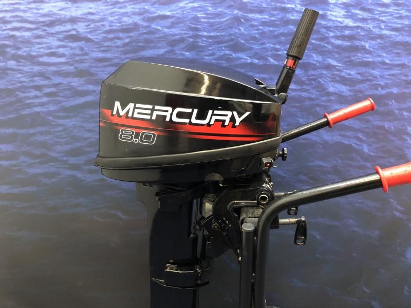 Mercury 8 pk Langstaart 2 cilinder