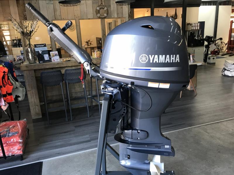 Yamaha Buitenboordmotor F50 HEDL KNUPPEL of afstandbediend