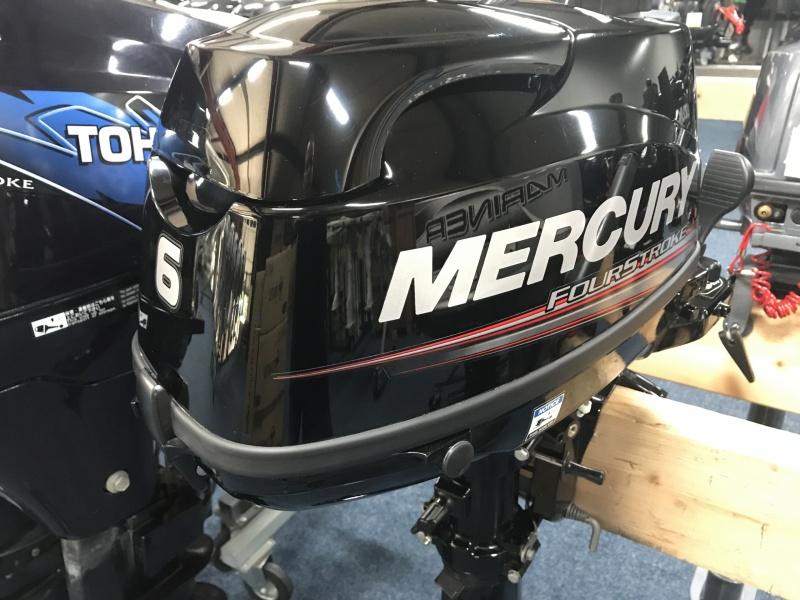 Mercury buitenboordmotor F6 MH kortstaart