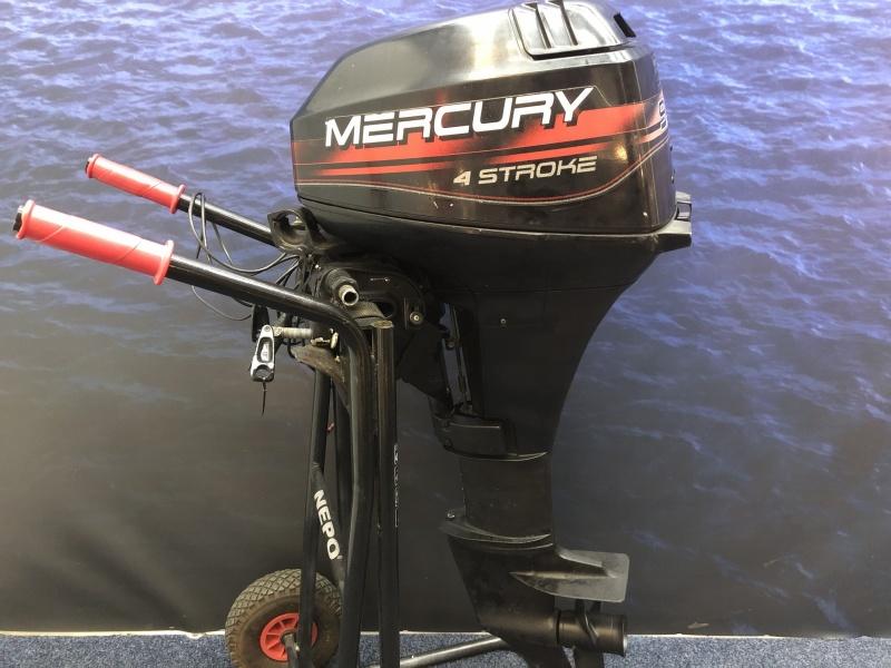 Mercury 9.9 pk Langstaart elektrische start afstandsbediening