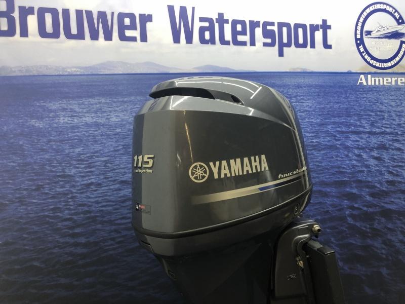 Yamaha 115 pk slechts 45 uur!! F115 BETL