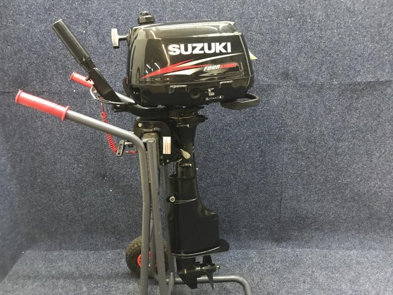 Suzuki buitenboordmotor 4 pk Langstaart !!Ombouw naar 5 pk !!