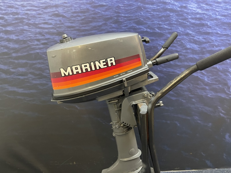 Mercury 4 pk buitenboordmotor Mariner is zelfde als Mercury Kortstaart