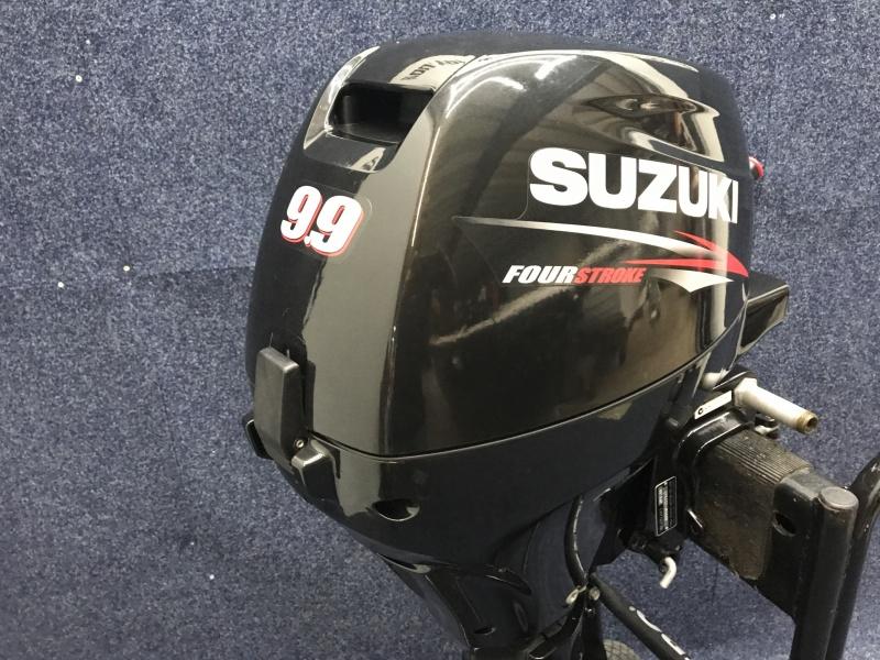 Suzuki buitenboordmotor DF 9.9 kortstaart el start