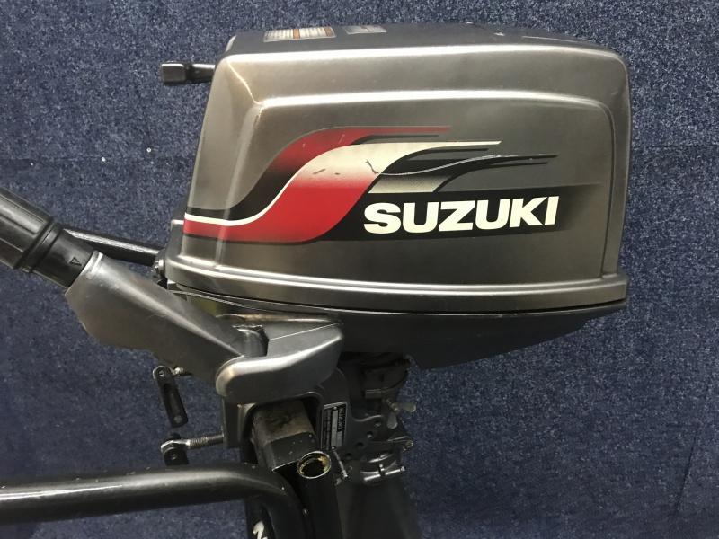 Suzuki 6 pk kortstaart