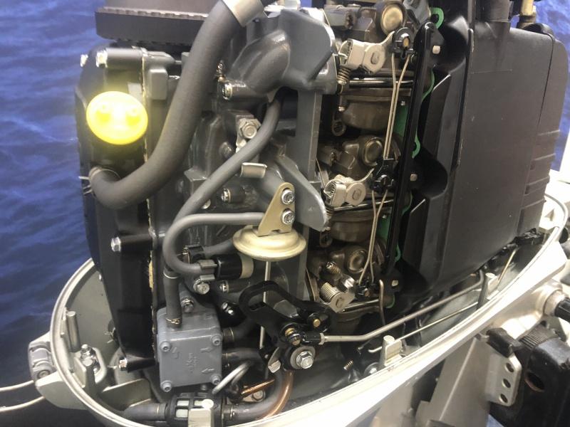 Honda buitenboordmotor 30 pk kortstaart