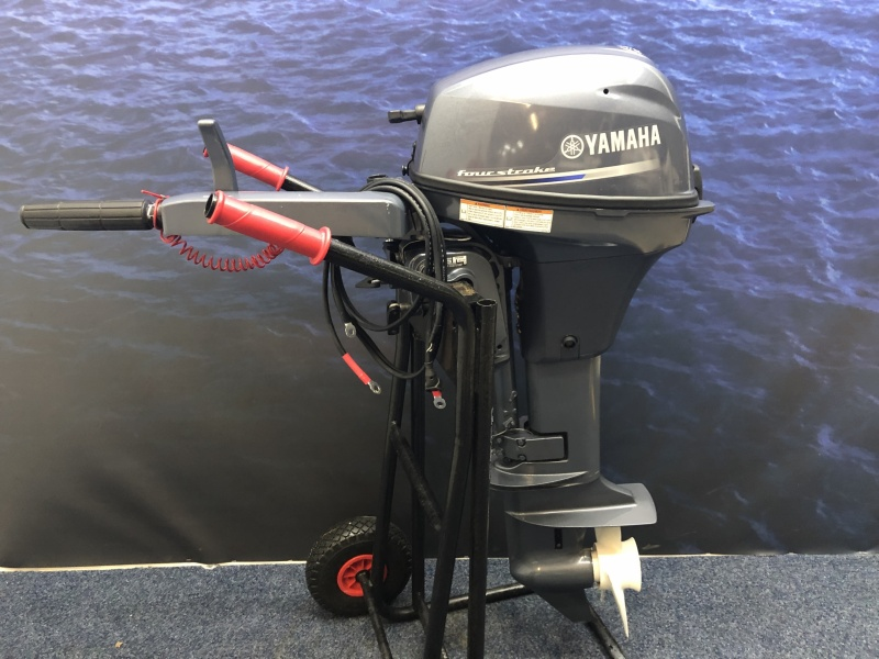 Yamaha 9.9 Werkmotor Hightrust