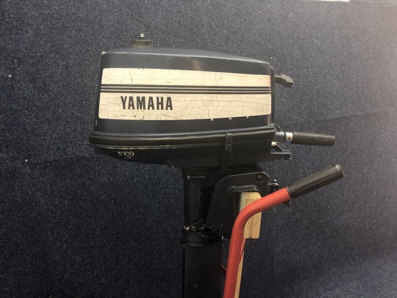 Yamaha 4 pk 2 takt langstaart
