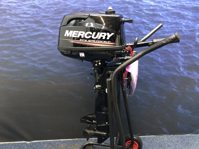 Tohatsu / Mercury 5 pk Kortstaart demo 2 vaaruren