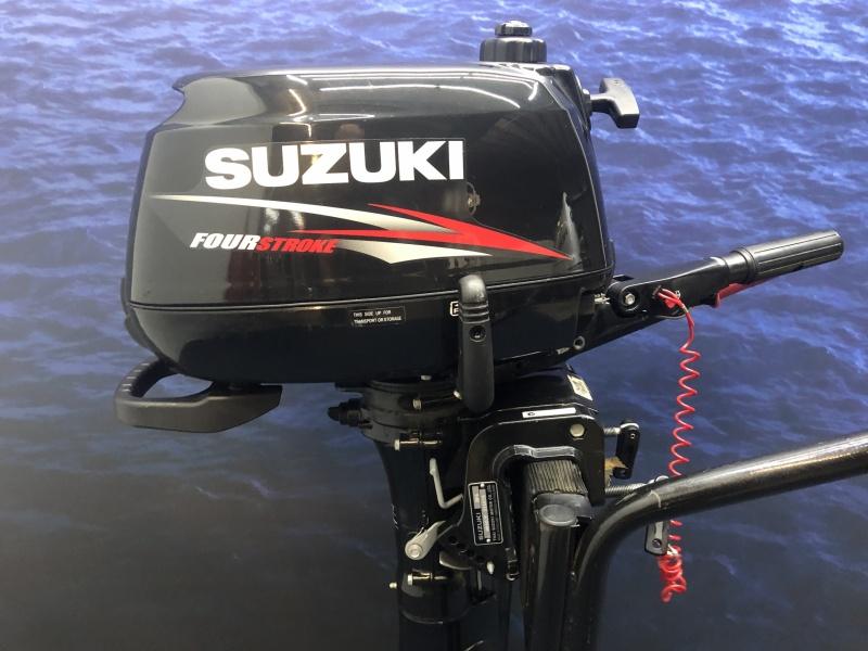 Suzuki 6 pk buitenboordmotor Kortstaart