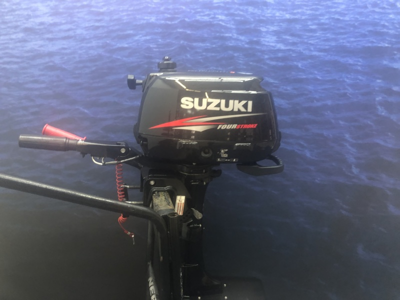 Suzuki 4 pk Kortstaart opgevoerd naar 5 pk!!
