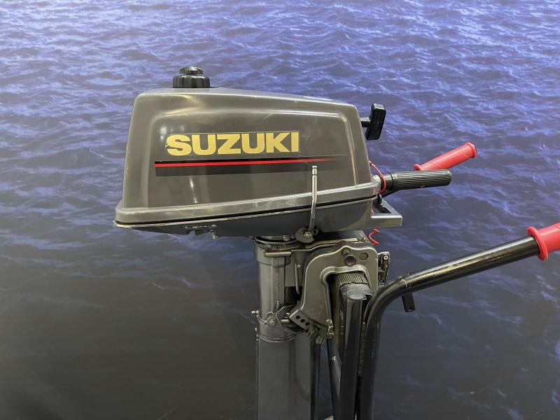 Suzuki 4pk buitenboordmotor Langstaart