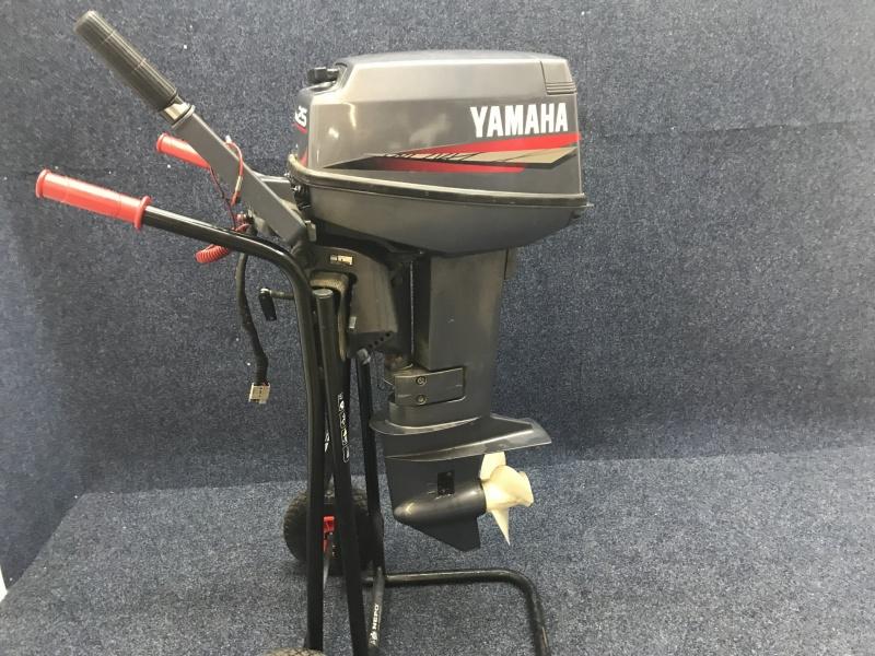 Buitenboordmotor Yamaha 25 2 takt el start
