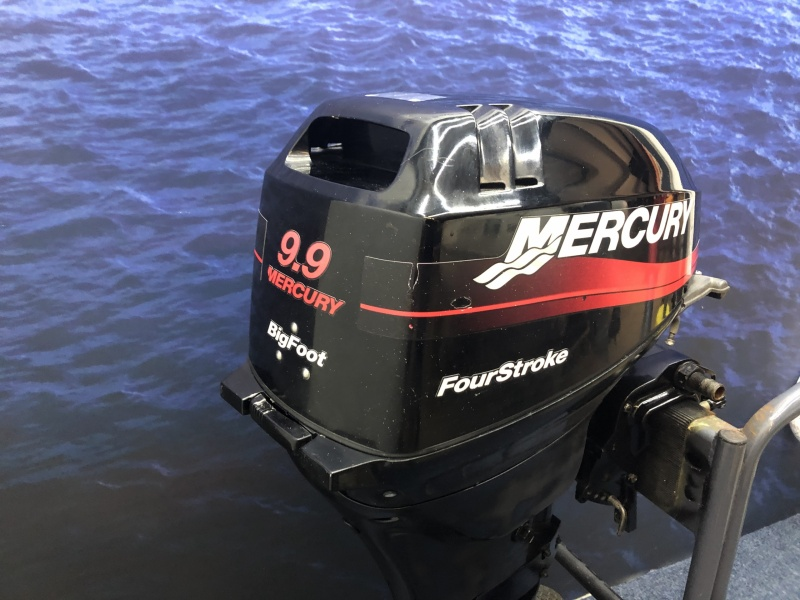 Mercury 9.9 pk langstaart el start