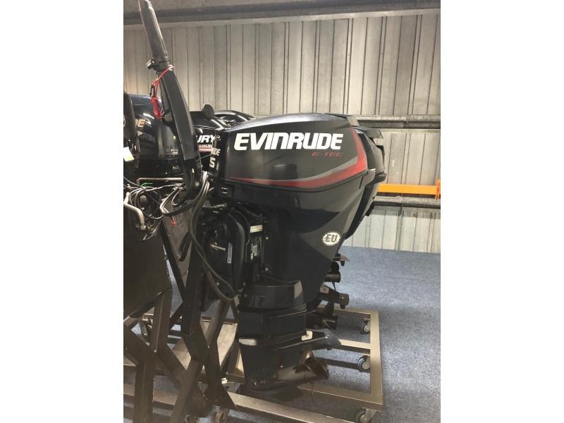 Evinrude 25 pk langstaart knuppel besturing