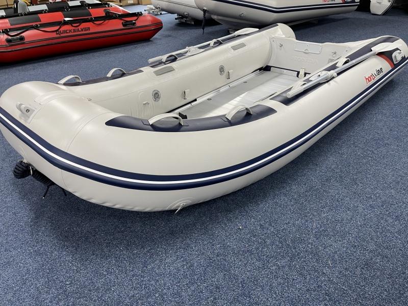 Honwave Honda Rubberboot T40-AE3 Aluminium Vlonders