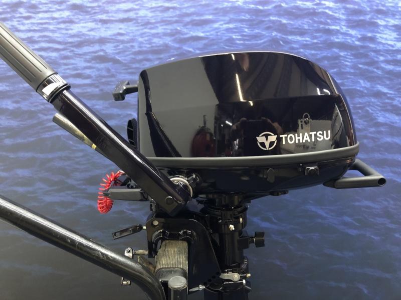 Buitenboordmotor Tohatsu MFS 5C UITVERKOCHT!!