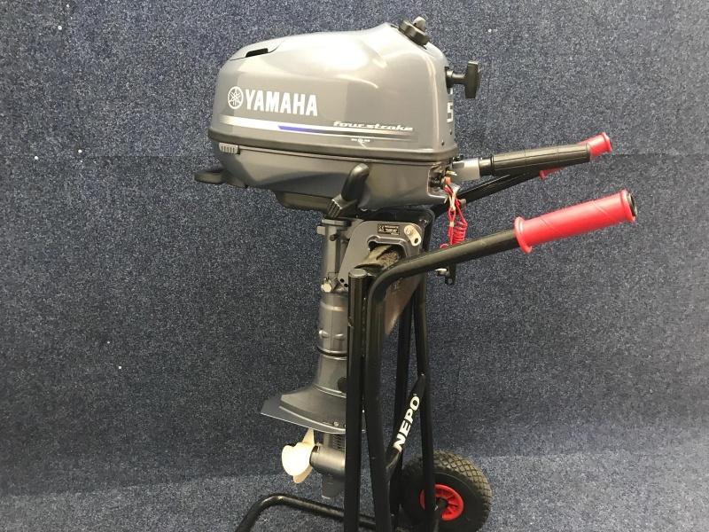 Yamaha 5pk kortstaart als nieuw 10 vaaruren