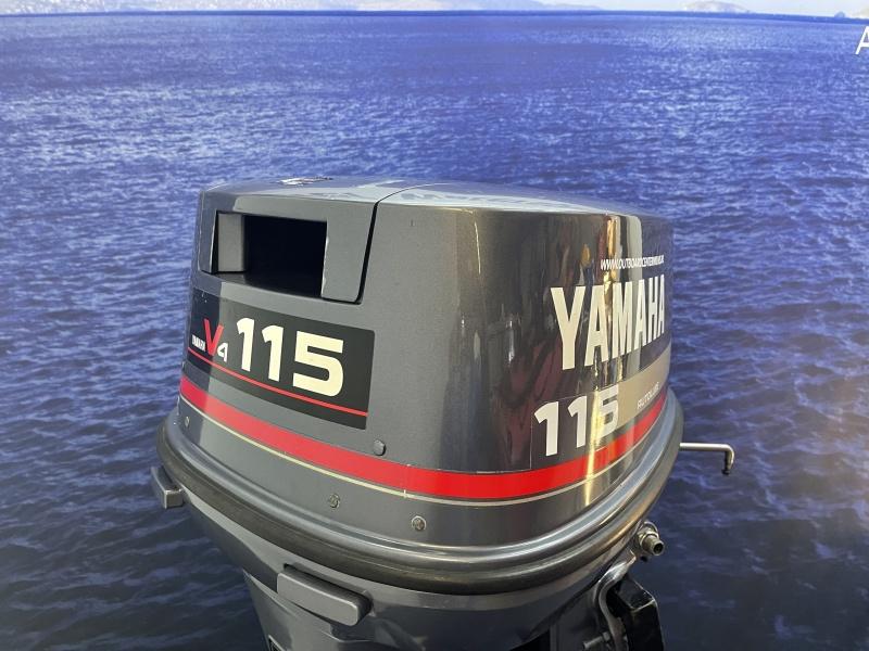 Yamaha 115 pk buitenboordmotor V4 tweetakt olie injectie