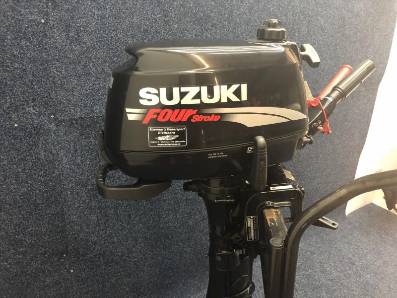 Suzuki 6 pk langstaart